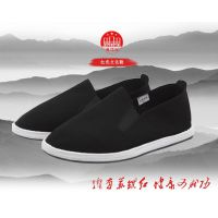 苏维红超纤面料老北京布鞋传统工艺舒适男鞋纯手工千层底