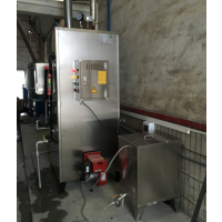 宇益牌自然循环锅炉 燃油蒸汽发生器 蒸汽量200KG 免报装手续使用 食品加工设备