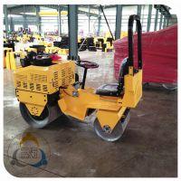 小型双钢轮压路机 多型号可选的座驾压路机 三人行压实机械