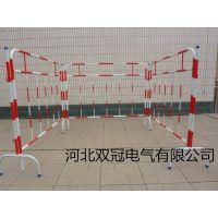 双冠电力定做1.2米*2.5米隔离栏 组合式铁质安全围栏 铁马护栏