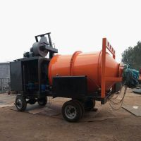 昌晟 厂家直销牵引式沥青搅拌机 沥青混合料拌合设备拌和机