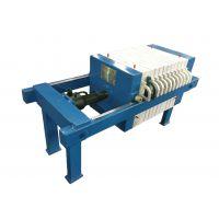 湖州强源大量供应2-30平方的螺旋千斤顶板框压滤机,啤酒厂专用15968211829