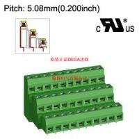 MB662-508原装台湾DECA进联间距5.05三层PCB接线端子