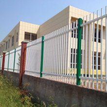 搅拌站防护栏杆 惠州热镀锌锌钢围栏厂家 江门锌钢护栏