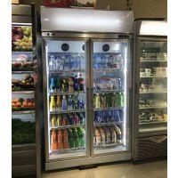 超市啤酒饮料冷藏保鲜展示柜2门3门多门陈列柜2018经济款