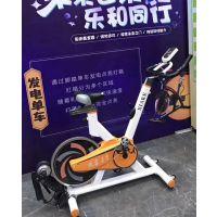 江苏环保动感单车可发光的发电单车租赁以及科技游戏设备出租