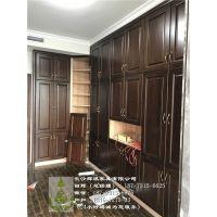 长沙实木家具定制现场观看、整房实木护墙板、衣柜订做知名厂家