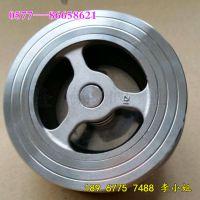 温州隆锦阀业供应 不锈钢 对夹式 止回阀 H71W 对夹式止回阀