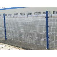 百瑞双边丝护栏网带防雨帽围栏网 道路车间隔离网