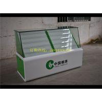 遵义定做超市卷烟柜 中国烟草玻璃柜 红酒柜陈列展示柜厂家