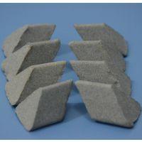 供应苏州研磨石抛光研磨产品零件磨料互磨棕刚玉斜三角12*12