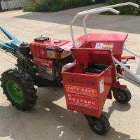 厂家直销玉米收割 单行手扶式汽油手推式玉米收获机