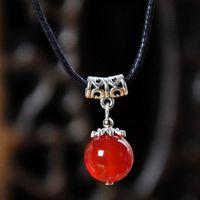 手工原创红玛瑙女锁骨项链景点热销广告促销礼品礼物厂家货源批发