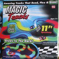 热卖 magic tracks 电动儿童玩具汽车 DIY拼装套装 儿童轨道车儿童轨道汽车