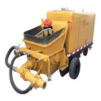 申鑫牌砂浆输送泵 泵送式湿喷机 小型喷浆机