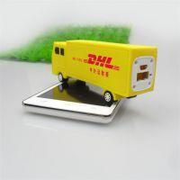 免费设计定做汽车造型移动电源套料 通用新款卡车创意充电宝外壳