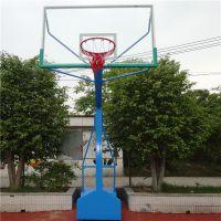 湖南省长沙市篮球架的安装范围 运动打球设施厂家直销的篮球架