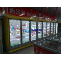 超市啤酒饮料风幕柜,宁德定做低温酸奶柜,牛奶鲜奶保鲜展示柜徽点品牌