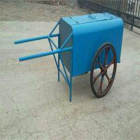 沧州志鹏供应手推式钢板垃圾车 户外/环卫清运车 小区垃圾车 厂家批发