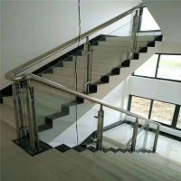 耀恒 生产供应可定做不锈钢楼梯扶手立柱/室内楼梯扶手栏杆