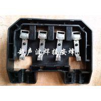 太阳能光伏接线盒实心柱热熔焊接机,太阳能组件铜片压合设备