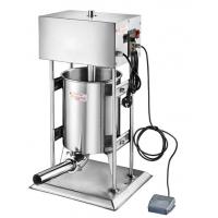 特别推荐立式15L嘉美牌电动灌香肠机器 简易型 全厚不锈钢