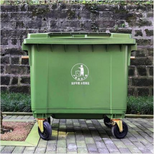 660L塑料垃圾车,贵阳环卫垃圾桶生产厂家