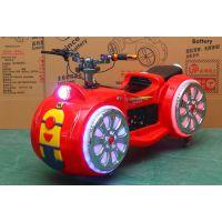广场太子摩托游乐设备 儿童电动游乐摩托 乐吧车 碰碰车价格厂家直售