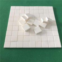 淄博厂家 供应 10*10*6 管道选粉机防磨用 抗冲击耐磨陶瓷片
