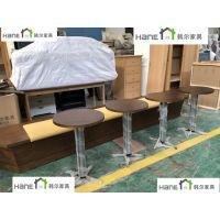 嘉兴西餐厅实木桌椅定制 韩尔品牌供应