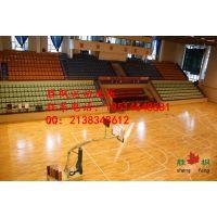濮阳篮球木地板采用主副龙骨铺装选用胜枫