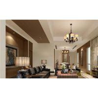 长沙家庭装修330㎡港式风格案例
