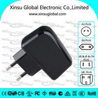 麦克风4.2V0.9A锂电池充电器,欧盟CE,GS认证,1串锂电池充电器
