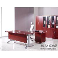 北京腾达大森现代时尚油漆办公桌实木电脑桌实木办公桌DS-SWC027