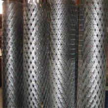 防锈漆钢板网 圈地菱形网 镀锌板装饰网