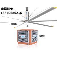 汽车制造厂通风降温方案瑞泰风扇机组合