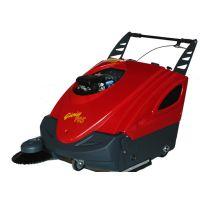 意大利POLI手推式汽油扫地机车GIOIA70ST 发动机驱动的清扫车