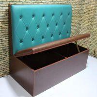 众美德供应双人卡座沙发尺寸|茶餐厅家具|简约卡座沙发储物