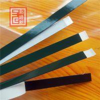 绿膜黑 汽车泡棉双面胶 模切冲型 PE泡棉海绵胶 强力海绵胶带