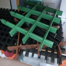 承德铝格栅批发 铝格栅吊顶多少钱一平米 高铁站铝天花格栅供应商