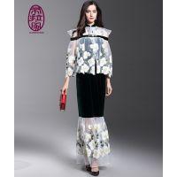 供应:礼服价格,定做加工,高端旗袍 航龙服饰 中式唐装 时尚时装 量身定制