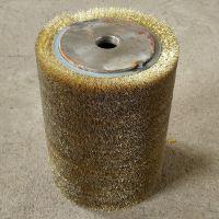 定做工业毛刷辊尼龙丝磨料丝刷辊滚筒刷毛刷辊清洗机尼龙刷辊定制