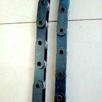 16A空心链条价格 不锈钢传动套筒链乾德厂家欢迎您