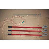 双冠JDX-WS-110KV高压户外接地线双簧挂钩式接地棒厂家批发