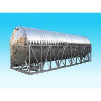 东莞销售圆形不锈钢水箱 卧式保温水箱 家用不锈钢水塔