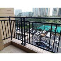阳台护栏锌钢百叶窗生产拼装好发货