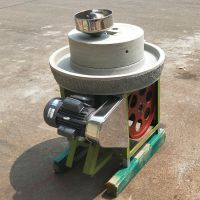优质天然砂石 商用豆浆米浆石磨机 新型芝麻酱石磨机
