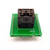 QFN32-0.5 烧录座 双层转板 翻盖 测试座 艾科 编程座 厂家