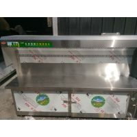 厂家直销鑫豪无烟净化烧烤车连锁··高低空净化器··电场