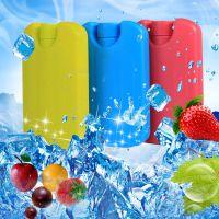 厂家直销150ML迷你冰板 空调扇专用冰晶盒 冰盒 蓝冰 三色小彩冰
